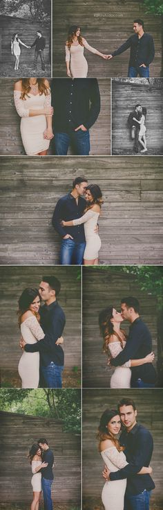 Engagement pics. love their style