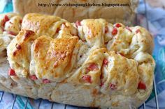 Cream Corn Sausage Loaf Bread/ 17hrs Pre-fermented Sponge Dough