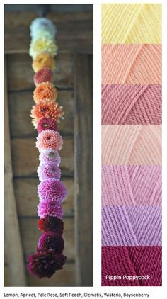 Yarn Lovers for Crochet and Knitting Yarn Color Combinations, Colour Schemes, Color Patterns, Color Balance, Color Harmony, Yarn Inspiration, Colour Pallette, Design Seeds, Color Swatches