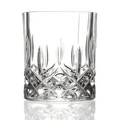 """RCR Opera Crystal Double Old Fashion Glass (Set of 6) by Lorren Home Trends. $44.00. Crystal. 237920 Features: -Set of six glass.-Lead free crystal.-Matching pieces to create a complete and matching look.-Made in Italy. Dimensions: -Overall dimensions: 3.5"""" H x 3"""" W x 3"""" D."""