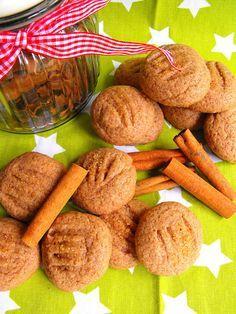 Biscoitos de canela e erva doce