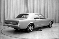 OG |1964 Ford Mustang Mk1 Four-door | Prototype dated Jan. 1963