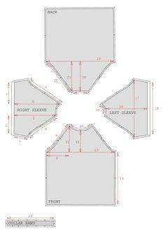DIY – PATRONNAGE T-SHIRT MANCHES RAGLAN |