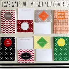 May Designs - Customizable Planners, Notebooks and Everything Else Lone Star State, May Designs, Personalized Notebook, Journal Paper, College Hacks, Don't Worry, Bobs, Notebooks, Planners