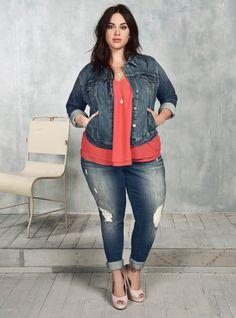 #InMyJeans | Torrid Plus Size | Torrid Denim