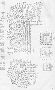 If you looking for a great border for either your crochet or knitting project, check this interesting pattern out. When you see the tutorial you will see that you will use both the knitting needle and crochet hook to work on the the wavy border. Crochet Boarders, Crochet Lace Edging, Crochet Diagram, Crochet Stitches Patterns, Crochet Chart, Thread Crochet, Filet Crochet, Crochet Designs, Easy Crochet