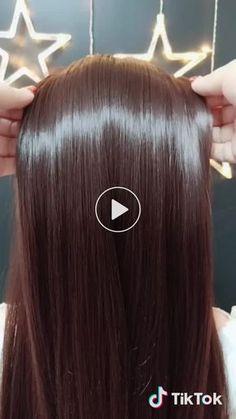 I don't want to lose my hair in winter. I'll teach you a trick.✨✨ - - I don't want to lose my hair in winter. I'll teach you a trick.✨✨ I don't want to lose my hair in winter. I'll teach you a trick. Curly Hair Styles, Flapper Hair, Pinterest Hair, Grunge Hair, Hair Videos, Hair Hacks, Braided Hairstyles, Popular Hairstyles, Amazing Hairstyles