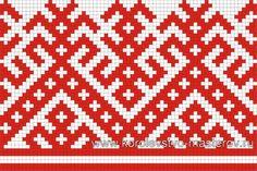 Схема вышивки крестом. Орнаменты русских вышивок. Узоры Cross Stitch Borders, Cross Stitch Designs, Cross Stitching, Cross Stitch Embroidery, Cross Stitch Patterns, Inkle Weaving, Inkle Loom, Fair Isle Knitting Patterns, Weaving Patterns