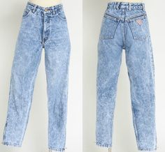 OMG........80's Guess jeans. Name brand jeans were the in thing to, Calvin Kleins, Gloria Vanderbilts etc.