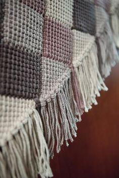 Squared Away Crochet Throw - Knitting Patterns and Crochet Patterns from KnitPicks.com #TunisianCrochetPatterns