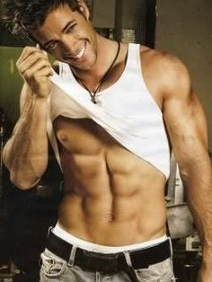 William Levy - So Hot!: This guy is just the epitome of sexy. Washboard abs and a beautiful smile. He's so hot Gorgeous Men, Beautiful People, Hello Gorgeous, Elizabeth Gutierrez, Le Male, Hommes Sexy, Raining Men, Attractive Men, Good Looking Men