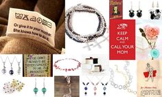 don't forget Mothers Day!! Jewellery from www.bishboshbecca.co.uk #mothers #gifts