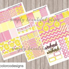 So excited to work with @colorcodesigns! Pink Lemonade is now available at http://ift.tt/1l1r6p4 #Repost @colorcodesigns with @repostapp.  Did you see this new kit in our shop? We're collaborating with @simplybeautifulplans! #planneraddict http://ift.tt/1l1r6p4 . . .  #planneraddict #planner #colorcodesigns #plannerspread #plannerlove #plannergoodies #plannerjunkie #plannercommunity #planners #plannernerd #plannerobssessed #plannergirl #plannerlife #erincondrenlifeplanner #eclp #happyplanner…