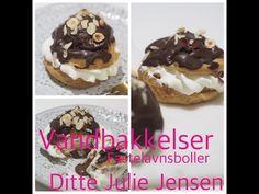 Succes med vandbakkelser - fastelavnsboller - Ditte Julie Jensen - YouTube