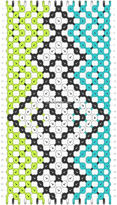 Handmade Friendship Bracelets, Friendship Bracelet Patterns, Perler Patterns, Macrame Bracelets, Paracord, Color Blocking, Diy Jewelry, Diy Ideas, Dots