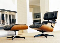 Iconic Design – The Eames Lounge Chair and Ottoman
