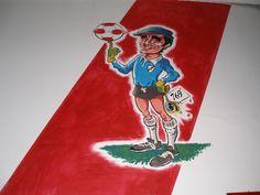 """Amadeo Carrizo"" mural realizado en la pensión de fútbol juvenil del Club Atético River Plate. Disney Characters, Fictional Characters, Snow White, Club, Disney Princess, Art, Hipster Stuff, Art Background, Snow White Pictures"