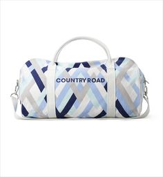 Country Road Talie Printed Tote   Wallets, Bags & Totes   Women's Accessories   Country Road   Brands   Woolworths.co.za   Food, Home, Clothing & General Merchandise available online! Print Logo, Textile Prints, Duffel Bag, Graphic Design Inspiration, Womens Tote Bags, Women's Accessories, Gym Bag, Country Roads, Wallet