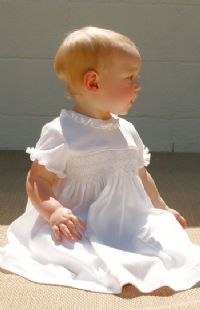 Baptismal dress for ruby