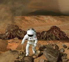 The toxic chemical perchlorate may be good news for the possibility of life on Mars, but it will pose a danger to exploring astronaut crews.
