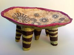 Mary Hanson's Intriguing Paper Mâché Pieces | American Craft Council