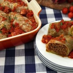 This Cabbage Roll recipe is smoky, meaty and delicious. Passed down through his family, Steven has perfected the dish and is ready to share it with you. Try it for dinner, or pull a Steven and make a batch of 30 at a time and pop them in the freezer! Lamb Dishes, Veggie Dishes, Sour Cabbage, Pork Hock, Cabbage Rolls Recipe, Sauteed Vegetables, Smoked Bacon, Beef, Venison