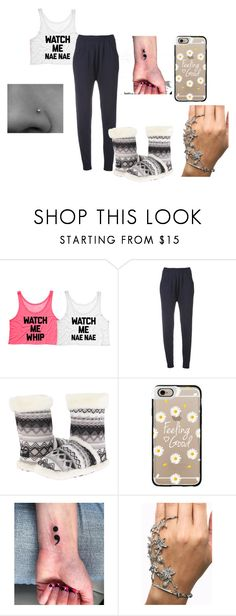 """PJ'S"" by quotev-lover ❤ liked on Polyvore featuring Maison Ullens, M&F Western and Casetify"