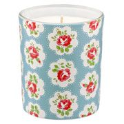 Provence Rose Glass Candle