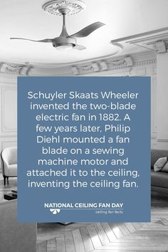 Did you know ceiling fans are designed to cool people not rooms ceiling fans and lighting stores online aloadofball Choice Image