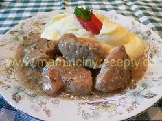 Česnekové maso