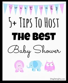 5 Tips to Host the Best Baby Shower
