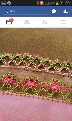 HUZUR SOKAĞI (Yaşamaya Değer Hobiler) [] #<br/> # #Lace<br/> Needle Tatting, Needle Lace, Bargello, Knitted Shawls, Knitting Socks, Crochet Lace, Crochet Projects, Hand Embroidery, Needlework