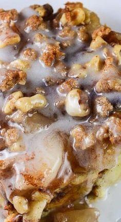 Cinnamon Apple Pie Bread Pudding - Flavor Mosaic