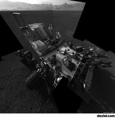 Curiosity sends back a self portrait from Mars