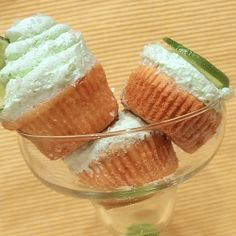 Tequila Lime Cupcakes (21  Only!) by MamaMommyMom