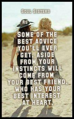 Friend advice …