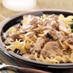 Mock Stroganoff Quick Dinner Recipe from Taste of Home -- Submitted by Terri Wetzel - Roseburg, Oregon