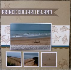 From Where I Stamp: By the Seashore #scrapbooking #stampinup #mydigitalstudio