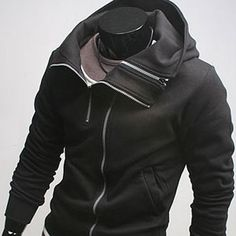 Casual Zipup Hoodie Jacket (H207-BLACK    Thanks to my awesome brother, Zak...I own it!!!