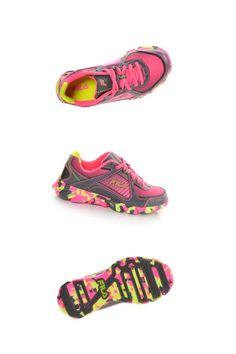 Send her off to the races in these Fila Ultraloop running shoes.  kidsstyle  Shoe 963bb25f500