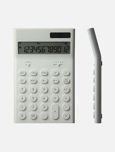 Electronic Calculator,Naoto Fukasawa,Plusminuszero,calculator,Office supplies,深泽直人,办公用品,计算器