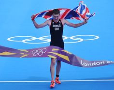 Alistair Brownlee, Olympic champion,European champion and a two-time Triathlon World Champion