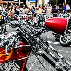 #HarleyDavidson with his #Springer #Fork and #Headlamp. Shooted on #BarcelonaHarleyDays2010 by #DaveKustomShots  #Harley #HarleysOfInstagram #Kustom #KustomKulture #BarcelonaHarleyDays #BHD #BHD10. More at http://bit.ly/DKSNstgrm