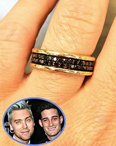 Lance Bass proposed again to Michael Turchin -- what do you think of his ring?
