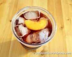 Olive Garden peach belini iced tea