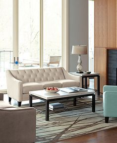 Martha Stewart Saybridge Living Room Furniture Collection | Living ...