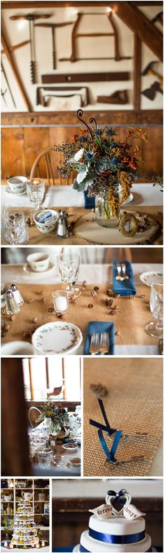 salem cross inn centerpiece ideas