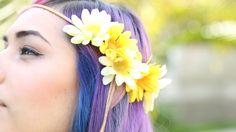 Easy Flower Headband ♥ DIY