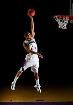 Awesome shot for basketball photos