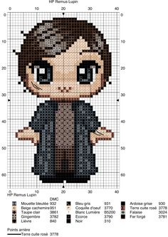 Remus Lupin - Harry Potter pattern